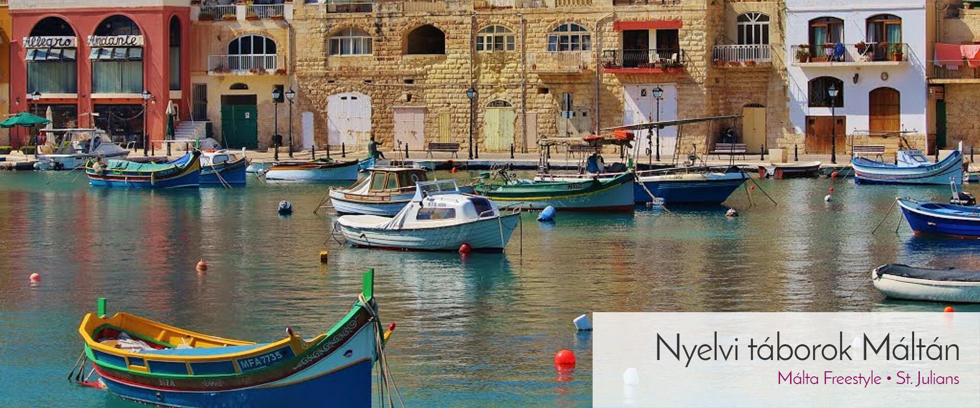Málta - nyelvi táborok külföldön
